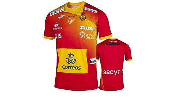 Camiseta Joma España Balonmano Masculino 2019 Roja - S: Amazon.es ...