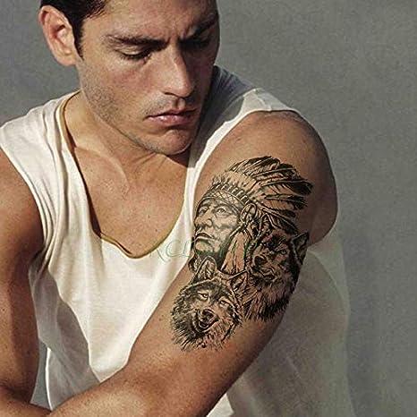 Tatuaje engomada Impermeable 4pcs Magos Florista del Tatuaje del ...