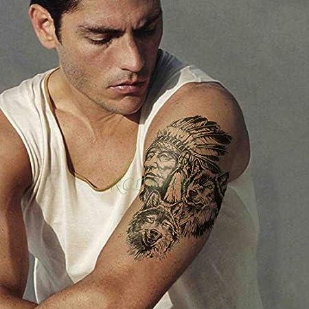 5pcs Impermeable del Tatuaje Sticker Magos niña de Las Flores ...