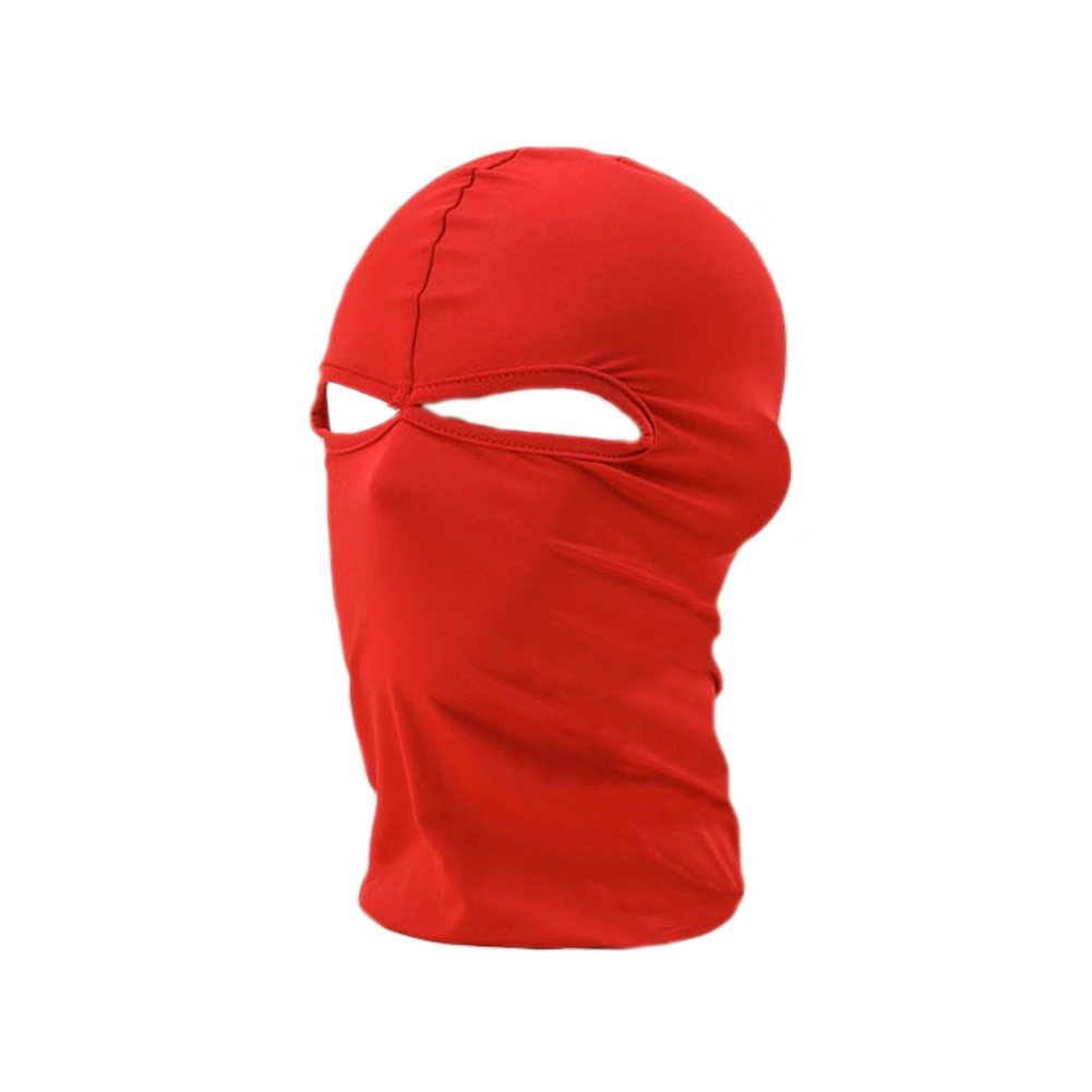 TopTie Full Face Mask, Soft Breathable Balaclava, Cycling Sports Mask Cycling Sports Mask - Black TBCX-AQ57210_BLACK