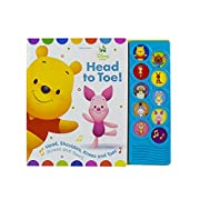 Disney Baby Head to Toe! Play-a-Sound Board Book 9781503725676 (Disney Baby: Play-a-Sound)