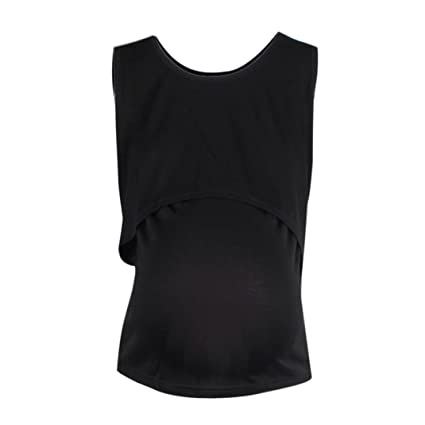 e35957d8a5d75 Maternity Tank Tops, Clearance! Tloowy Women Summer Pregnancy Vest Shirts  Sleeveless Nursing Tops Breastfeeding