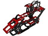 Rakon CNC AL and CF Main Frame Set - Blade 230 S RED