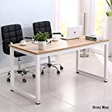 Wakrays Modern Simple Style Computer Desk PC Laptop Study Table Workstation for Home Office (Chipboard-Wood Effect)