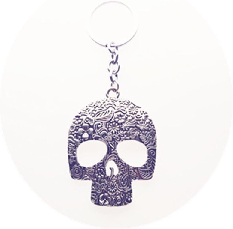 Fabric wristlet SUGARSKULL fabric keychain Skull badge holder skull keychain Sugarskull wristlet