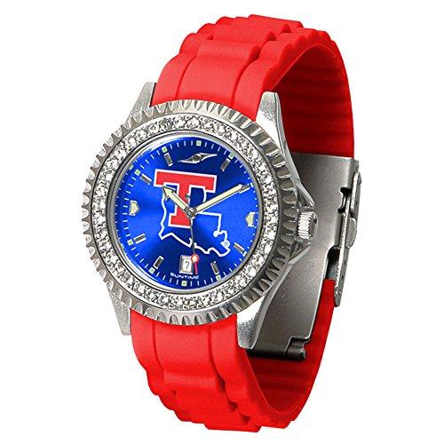 Tech Sport Watch Bulldogs Louisiana (Louisiana Tech Bulldogs Sparkle Women's Watch)