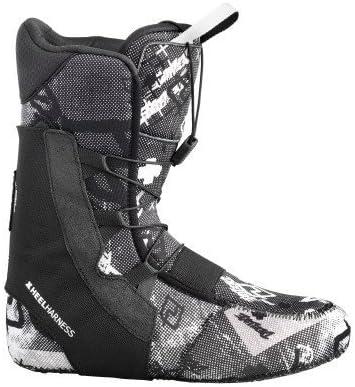 DEELUXE ディーラックス サーモ フレックス スノーボード ブーツ ライナー スノーボード ブーツ 32 ブラック/ホワイト【並行輸入品】+NONOKUROオリジナルグッズ