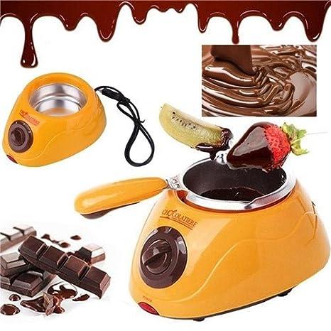 Amazoncom Chocolate Melting Pot Moonvvin Electric