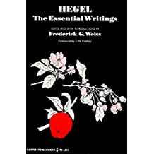 Hegel: The Essential Writings