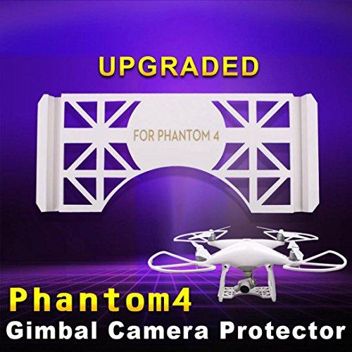 Camera Lens Gimbal Guard Landing Protector Safety Plate For DJI Phantom 4 White, (Landing Light Lens)