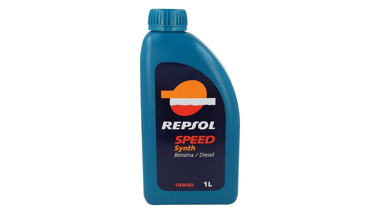 REPSOL Speed Synth 10 W40 lubricantes Aceite de Motor Coche Gasolina y diésel 1 LT: Amazon.es: Coche y moto