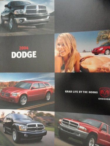 2004 Dodge Stratus Owners Manual - 2004 Dodge Grand Caravan / Durango / Magnum / Neon / Stratus Sales Brochure