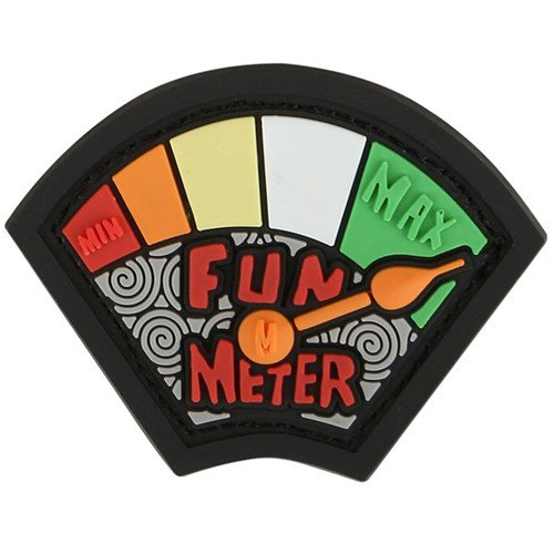 Maxpedition Fun Meter Patch, Color