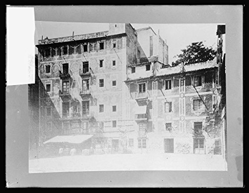 Vintography 8 x 10 Reprinted Old Photo Spain. Barcelona 1924 National Photo Co 99a by Vintography