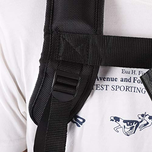 New Fashion Universal Trimmer Professional Double Shoulder Strap Mower Hard Nylon M-shaped Belt Black For Brush Cutter Garden Arts,crafts & Sewing
