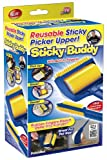 Sticky Buddy Reusable Sticky Picker Cleaner Lint Roller Pet Hair Remover Brush (Kitchen)