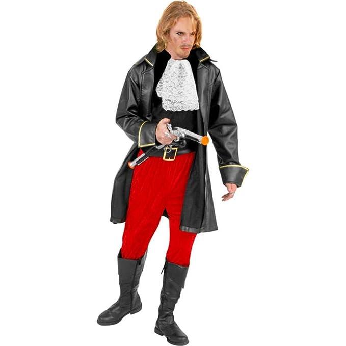 Amazon.com: Adulto Capitán Morgan disfraz (Negro) (Talla: XS ...