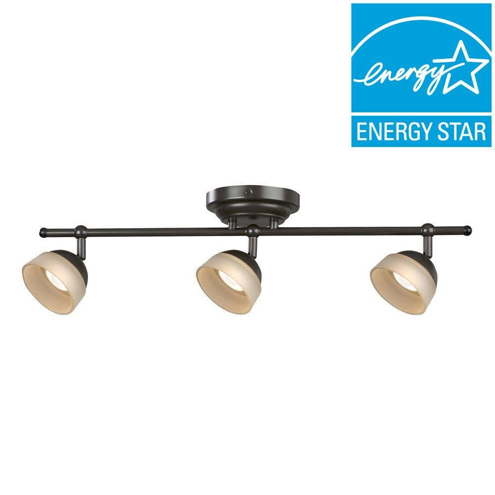 Aspects MADF330030LRB Madison 3-Light Oil-Rubbed Bronze Dimmable Fixed Track Lighting Kit
