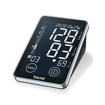 Tensiómetro de brazo con pantalla táctil - Beurer BM 58: Amazon.es: Oficina y papelería