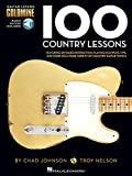 img - for 100 Country Lessons - Guitar Lesson Goldmine Series Bk/Online Audio book / textbook / text book