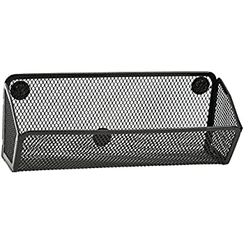 Amazon Com Mygift Wire Mesh Magnetic Storage Baskets