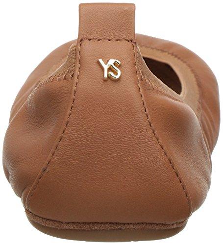 Yosi Samra Samara Flat 2 W, Bailarinas para Mujer Braun (Whiskey)