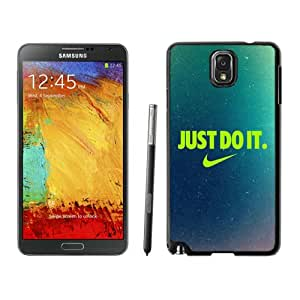 Nike Just do it 9 Black Hard Samsung Galaxy Note 3 Plastic Cover Case