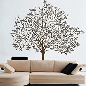 large wall stickers for living room large tree branches trunk wall decal sticker living room 25755