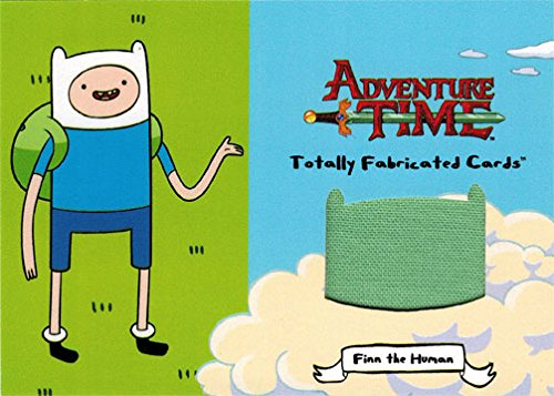 Adventure Time TF-04 Totally Fabricated Fake Wardrobe Card of Finn Backpack
