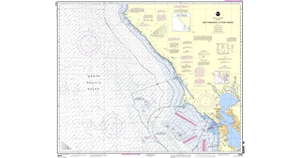 Amazon.com: NOAA Gráfico 18640: San Francisco A Punto Arena ...