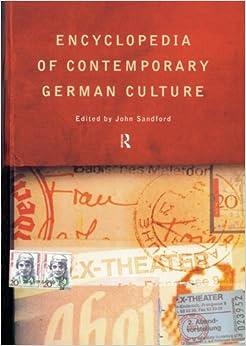 Book Encyclopedia of Contemporary German Culture (Encyclopedias of Contemporary Culture)