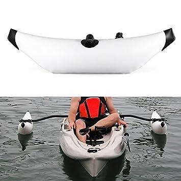 Lixada Kayak PVC Inflable Outrigger Kayak Canoa Barco de Pesca de Pie Flotador Sistema Estabilizador