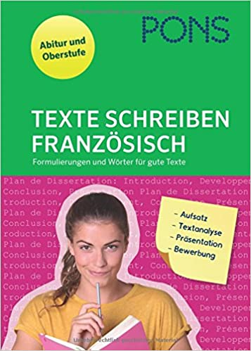 Pons Texte Schreiben Französisch Formulierungen Und Wörter Für