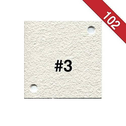 Buon Vino Super Jet Filter Pads, 0.5 Micron (#3) White (Pack of 102) by UbrewUsa (Image #1)