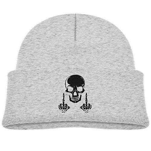 Infant Toddler Baby Kids Knitted Beanies Hat Fuck