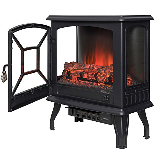 free standing fireplace - 2