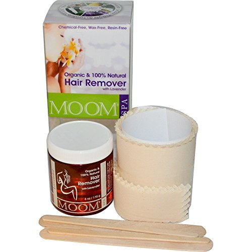 Moom, Organic Hair Remover Kit, With Lavender, Spa, 6 oz (170 g) - 2pc