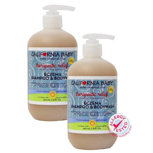California Baby Therapeutic Relief Eczema Shampoo & Bodywash - 19 oz., 2 Pack by California Baby