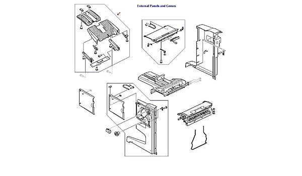 4G1-5171-040CN HP Stacker Bin