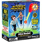 Stomp Rocket Ultra Rocket with Ultra Rocket Refill Pack, 6 Rockets - Outdoor Rocket Toy Gift for Boys and Girls Ages 5 Years and Up - Comes with Toy Rocket Launcher