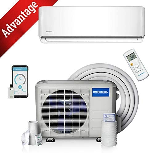 18k BTU 19 SEER MrCool Advantage Ductless Heat Pump Split System 3rd Generation – Wall Mounted