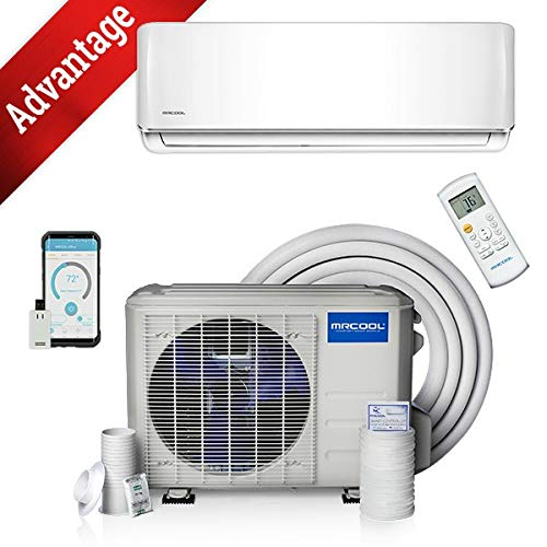 18k BTU 19 SEER MrCool Advantage Ductless Heat Pump Split System 3rd Generation - Wall Mounted (Mini Split Ductless Heat Pump)