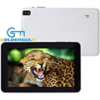 Goldengulf Newest 9 Inch Dual Core Google Android 4.2 Jelly Bean Tablet PC 8GB Multi Touch Screen Dual Camera WIFI Bluetooth HDMI G-Sensor