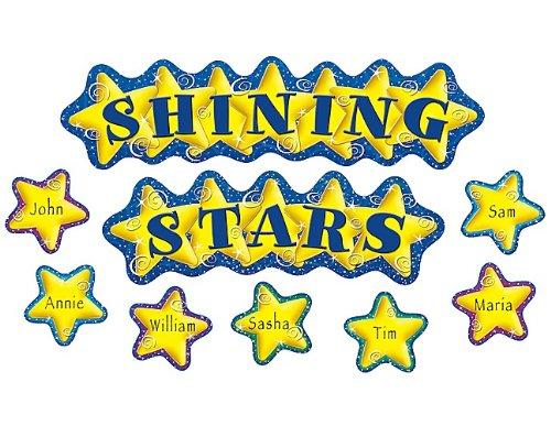 - Teacher Created Resources Shining Stars Mini Bulletin Board (4780)
