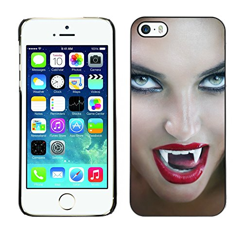 Premio Sottile Slim Cassa Custodia Case Cover Shell // V00001731 vampire // Apple iPhone 5 5S 5G
