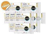 Delmera Emergency Mylar Thermal Blankets (4-10 Pack), 56
