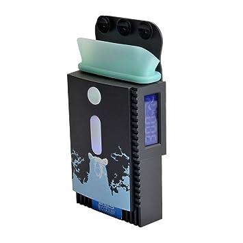 Refrigerador Profesional para computadora portátil con succión automática, Ultra Ligero y silencioso, LED Ambiental, Pantalla LCD, Ventilador Ajustable de ...