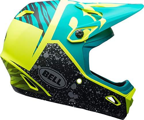 Bell 2018 Transfer-9 Full Face BMX Cycling Helmet (Gloss Pear/Lead/Silver Revolution - XL)