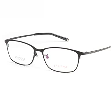 910735d2ee2a Full Frame Pure Titanium Men Optical Glasses Frame for Prescription Lenses