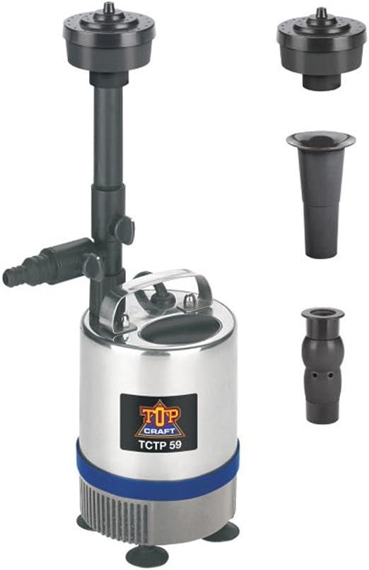 TopCraft TCTP 59 Bomba para fuente de estanque: Amazon.es: Jardín